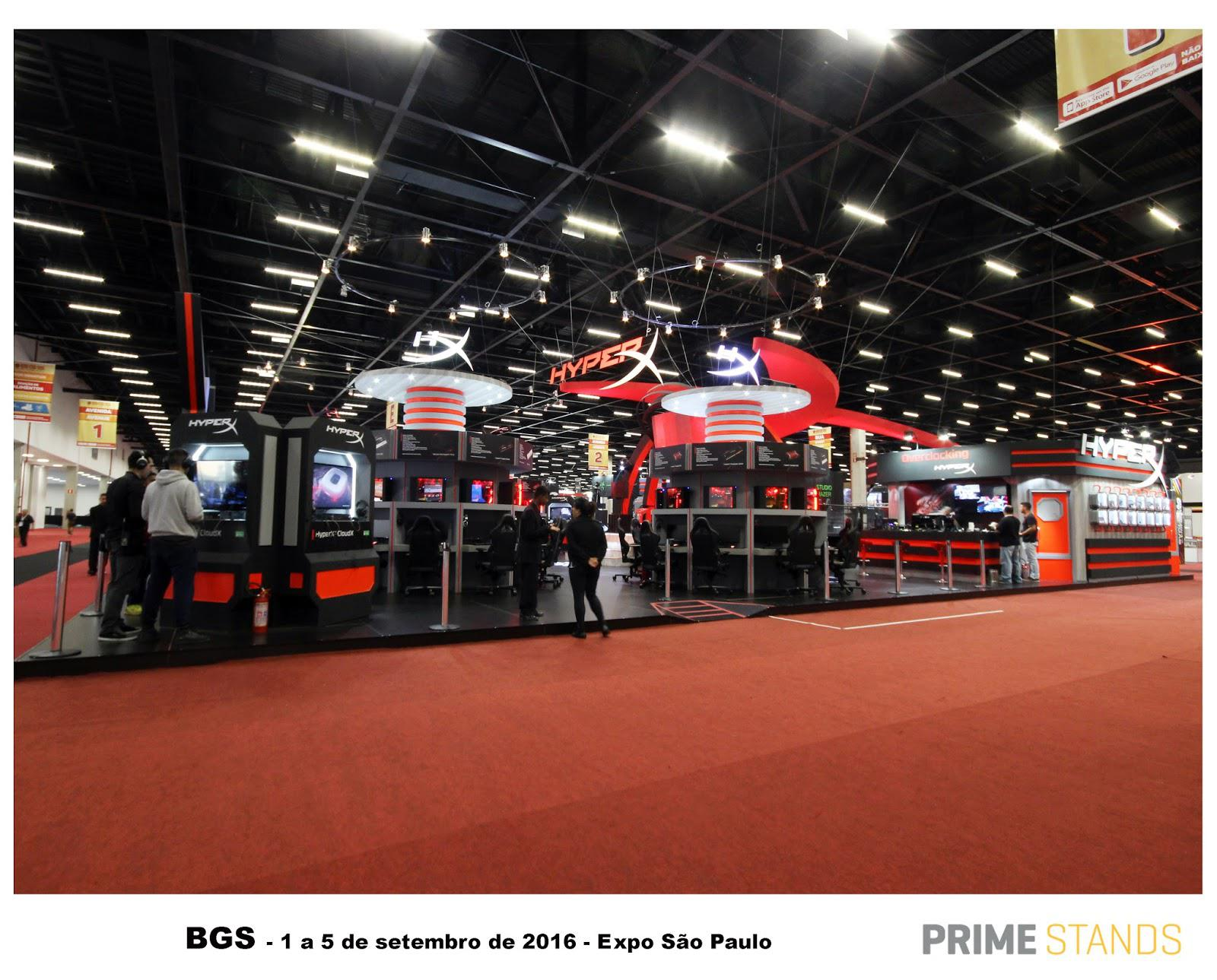 Expo Exhibition Stands Quiz : Brasil game show prime stands